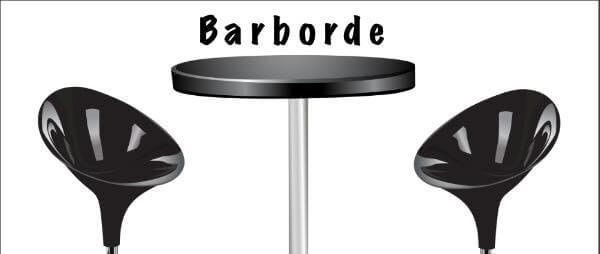 barbord med barstole på barborde.dk