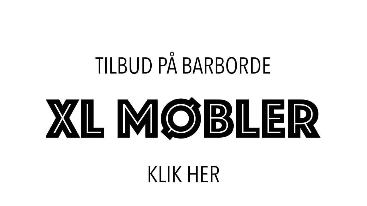 Find tilbud på barborde fra XL Møbler på barborde.dk